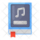 Music Book Music Study Music Library Icon