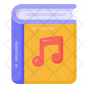 Music Book Music Booklet Music Education Icon
