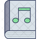 Music Book Musical Note Audio Book Icon