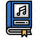 Music Book Music Education Audio Book Icon