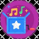 Musical Instrument Music Box Prank Box Icon