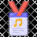 Identity Card Music Card Identification Icon