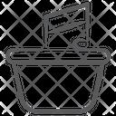 Music Cart Music Bucket Music Stock Icon