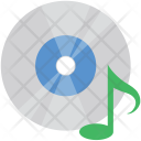 Music Cd Wave Icon