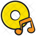 Music Cd Dvd Compact Disk Icon