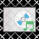 Cd Music Dvd Icon