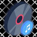 Sound Cd Music Cd Music Dvd Icon