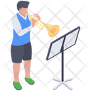 Music Class Music Lesson Music Test Practice Icon