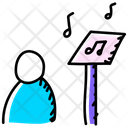 Music Education Music Class Music Learning Icon
