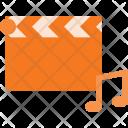 Music Clip Clapper Icon