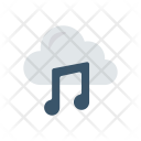 Cloud Music Melody Icon