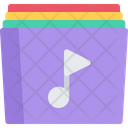 Music Collection Cd Dvd Icon