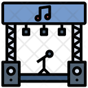 Music Concert Stage Icon