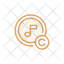 Music Copyright Icon