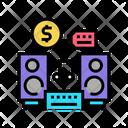 Music Device Rental Icon