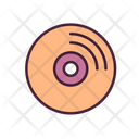 Music Disc Gramophone Disk Audio Disc Icon