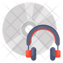 Music Disc Music Record Music Headphone Icon