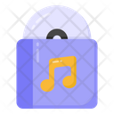 Cd Compact Disc Dvd Icon
