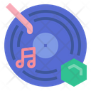 Music Disk Phonograph Record Music Icon
