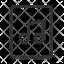 Music Document Icon