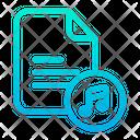 Music Document Music File Icon