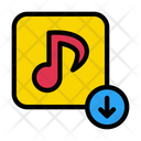 Music Download Download Song Icon