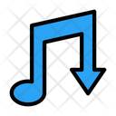 Music Download Media Icon