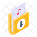 Music Data Music Folder Music Album Icon