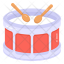 Rattle And Drum Music Drum Musical Instrument Icon