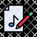 Editing Music Files Icon