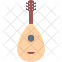 Lute Music Instrument Icon