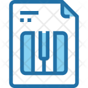 Music File Document Icon