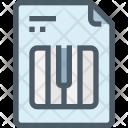 Music File Paper Icon