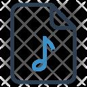 Music File Sheet Icon