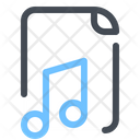 Music File Document Icon