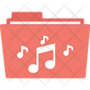 Songs Folder Songs File Music Icon