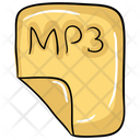 Music File Music Page Mp 3 Music Document Icon