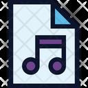 File Document Music Icon