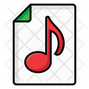 Music Folder Music File Songs Archive Icon