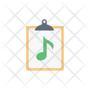 Music Files Document Icon