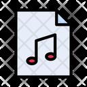 File Music Media Icon