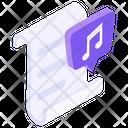 Music File Music Document Mp 3 File Icon