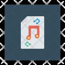 Music Files Record Icon