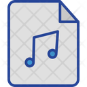 Audio Document File Icon