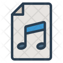 Music File Song Icon