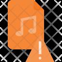 Attention Audio File Icon
