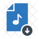File Download Music Icon
