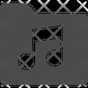 Audio Folder Music File Audio File Icon