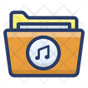 Music Folder File Data Folder Icon