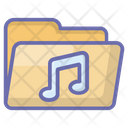 Music Card Recording Folder Music Folder Icon